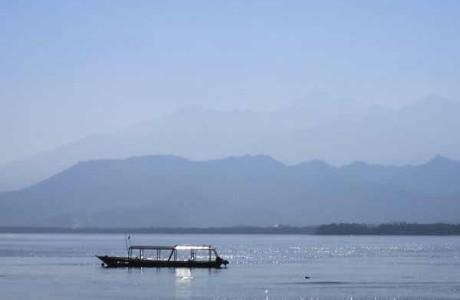 Båttur från Gili Islands