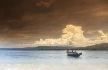 Öliv på Gili Islands