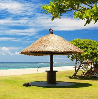 Paradispakken - For dig som vil sole dig, bade og slappe af på Balis og Lomboks vidunderlige paradis strande og fantastiske resorts.